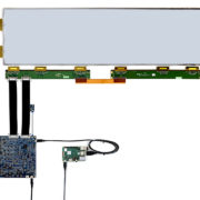 """L-T1000 evaluation kit interface connected to 28"""" EPD"""